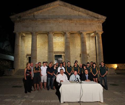 Επίσκεψη Αυστραλών Ομογενών 2010 | Ελληνική Ομοσπονδία Κρίκετ