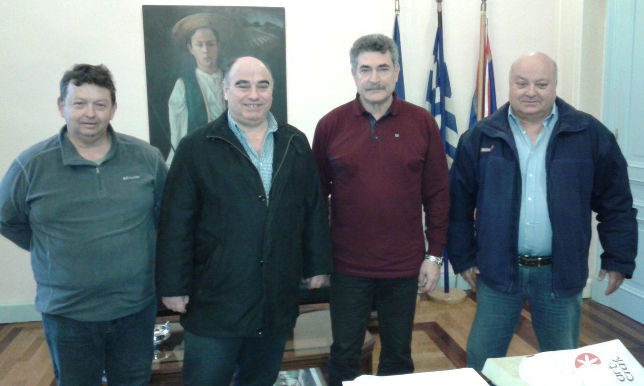 Συνάντηση Εκπροσώπων Με Τον Δήμαρχο Κέρκυρας | Ελληνική Ομοσπονδία Κρίκετ