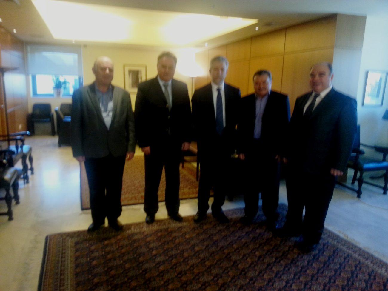Συνάντηση με Υφυπουργό Αθλητισμού Κ. Σταύρο Κοντονή | Ελληνική Ομοσπονδία Κρίκετ