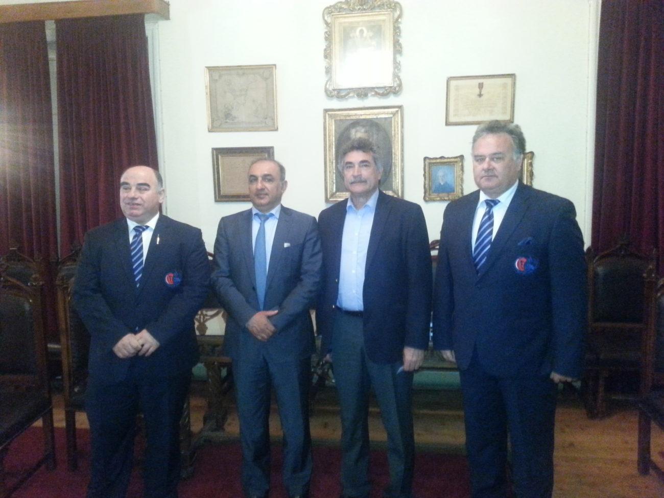 Επίσκεψη Του Πρέσβη Του Πακιστάν Στην Ελλάδα | Ελληνική Ομοσπονδία Κρίκετ
