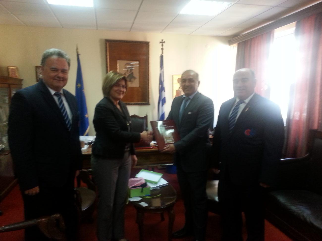 Επίσκεψη Του Πρέσβη Του Πακιστάν Στην Ελλάδα