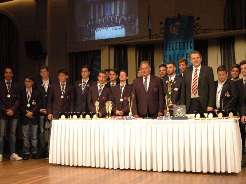 Απονομή Μεταλλίων | Ελληνική Ομοσπονδία Κρίκετ
