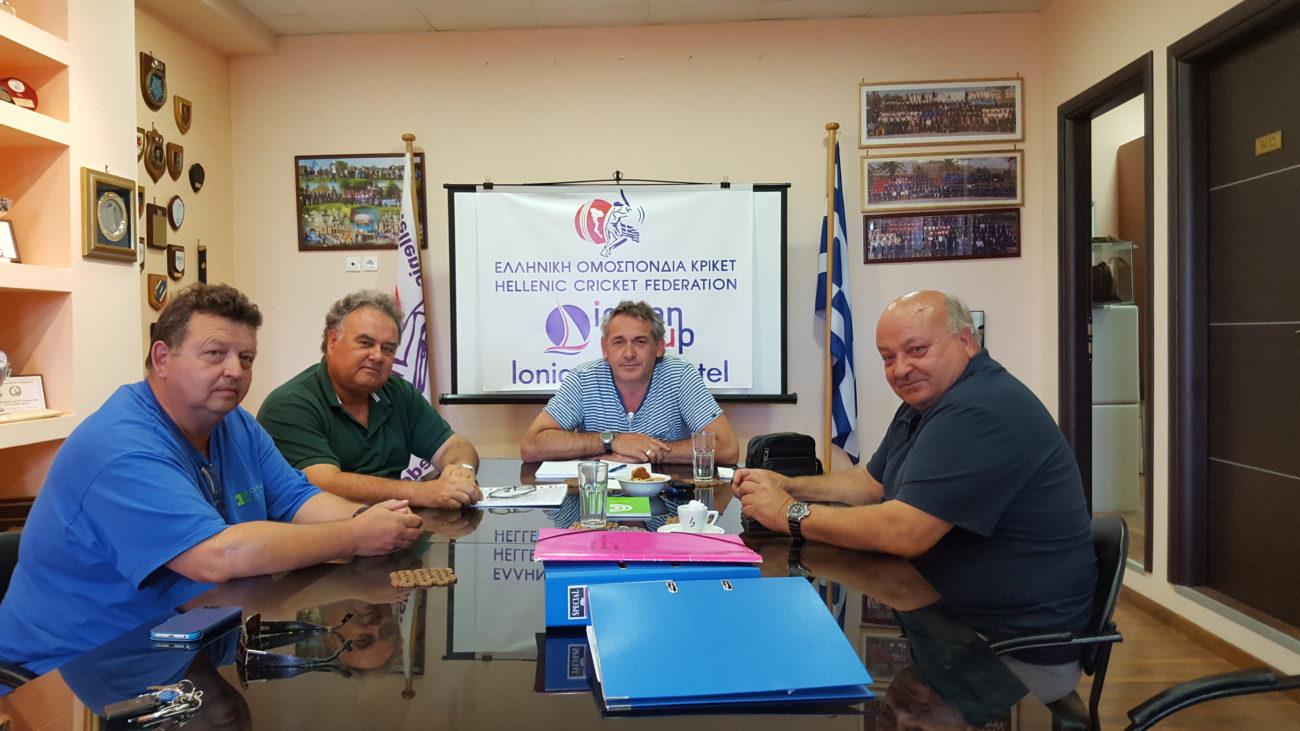 Συνάντηση Της Διοίκησης Με Τον Βουλευτή Κέρκυρας Κ. Κώστα Παυλίδη