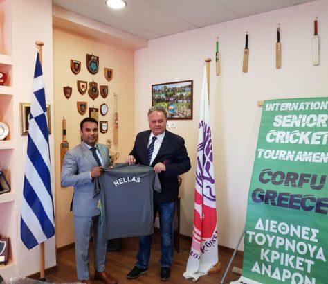 Mohammed Tahir   Ελληνική Ομοσπονδία Κρίκετ
