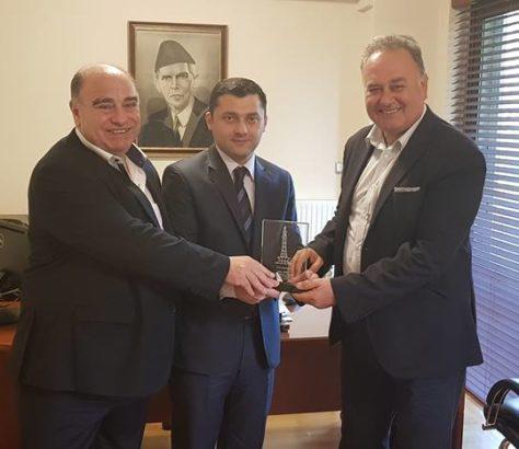 Συνάντηση Εκπροσώπων Της ΕΛ.Ο.Κ Με Τον Πρόξενο Της Πακιστανικής Πρεσβείας | Ελληνική Ομοσπονδία Κρίκετ