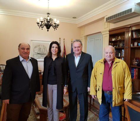 Συνάντηση Εκπροσώπων Με Την Δήμαρχο Κεντρικής Κέρκυρας