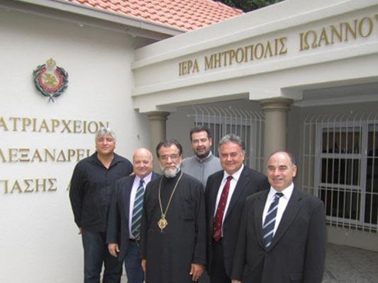Επίσκεψη ΕΛ.Ο.Κ Στο Γιοχάνεσμπουργκ